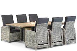 Garden Collections Bello/Seaside 220 cm dining tuinset 7-delig