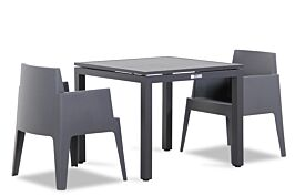 Lifestyle Box/Concept 90 cm dining tuinset 3-delig stapelbaar