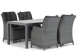 Garden Collections Buckingham/Residence 164 cm dining tuinset 5-delig