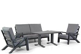 Santika Cinta/Lione 140 cm stoel-bank loungeset 4-delig