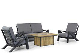 Santika Cinta/Seaside 120 cm stoel-bank loungeset 4-delig