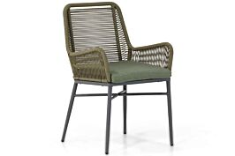 Coco Adali dining tuinstoel forest green