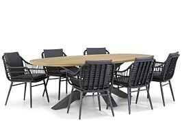 Coco Leonardo/Brookline 240 cm dining tuinset 7-delig