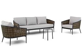 Coco Palm/Pacific 45cm stoel-bank loungeset 4-delig