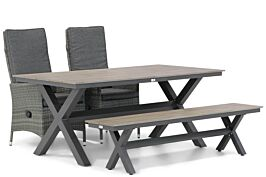 Domani Comino/Forest 180 cm dining tuinset 4-delig