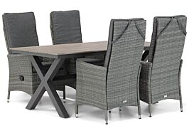 Domani Comino/Forest 180 cm dining tuinset 5-delig