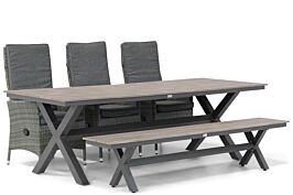 Domani Comino/Forest 240 cm dining tuinset 5-delig
