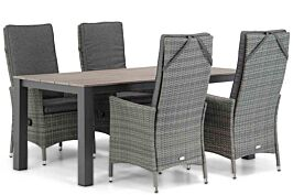 Domani Comino/Valley 180 cm dining tuinset 5-delig