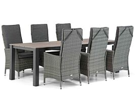Domani Comino/Valley 240 cm dining tuinset 7-delig