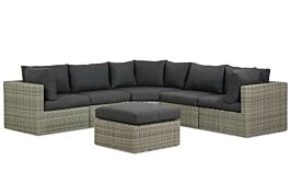 Garden Collections Comodo hoek loungeset 6-delig