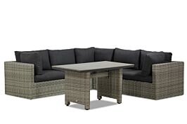 Garden Collections Comodo/Lusso 130 cm dining loungeset 6-delig