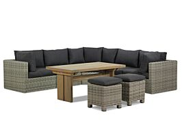Garden Collections Comodo/Brighton dining loungeset 8-delig