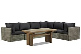 Garden Collections Comodo/Brighton dining loungeset 7-delig