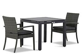Domani Solarino/Concept 90 cm dining tuinset 3 delig stapelbaar