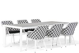 Lifestyle Crossway/Ravenna 240 cm dining tuinset 7-delig