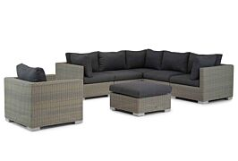Garden Collections Cuba hoek loungeset 7-delig