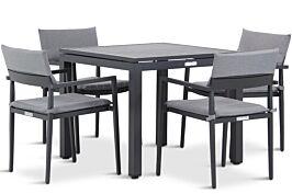 Lifestyle Dego/Concept 90 cm dining tuinset 5-delig stapelbaar
