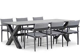 Lifestyle Dego/Calgary 240 cm dining tuinset 7-delig