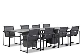 Lifestyle Delgada/Graniet 300 cm dining tuinset 9-delig