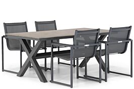 Lifestyle Delgada/Forest 180 cm dining tuinset 5-delig