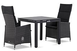 Garden Collections Denver/Concept 90 cm dining tuinset 3-delig verstelbaar