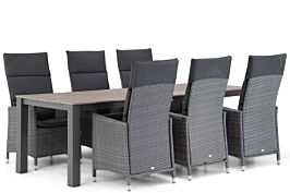 Garden Collections Denver/Valley 240 cm dining tuinset 7-delig