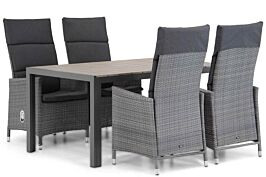 Garden Collections Denver/Young 155 cm dining tuinset 5-delig