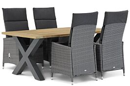Garden Collections Denver/Cardiff 180 cm dining tuinset 5-delig