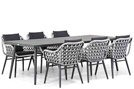 Lifestyle Dolphin/Sophia 240 cm dining tuinset 7-delig