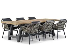 Lifestyle Dolphin/Trente 260 cm dining tuinset 7-delig