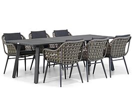 Lifestyle Dolphin/Villagio 230 cm dining tuinset 7-delig