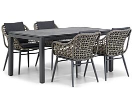 Lifestyle Dolphin/Concept 160 cm dining tuinset 5-delig