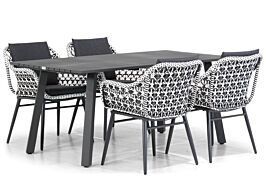 Lifestyle Dolphin/Villagio 170 cm dining tuinset 5-delig