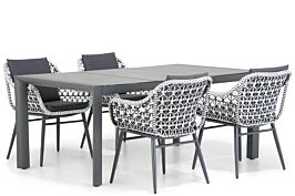 Lifestyle Dolphin/Lido 180 cm dining tuinset 5-delig
