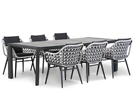 Lifestyle Dolphin/Lido 240 cm dining tuinset 5-delig