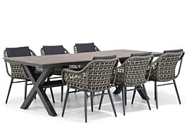 Lifestyle Dolphin/Forest 240 cm dining tuinset 7-delig