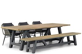 Lifestyle Dolphin/Trente 260 cm dining tuinset 5-delig