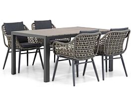 Lifestyle Dolphin/Young 155cm dining tuinset 5-delig