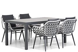 Lifestyle Dolphin/Residence 164 cm dining tuinset 5-delig