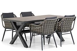 Lifestyle Dolphin/Forest 180 cm dining tuinset 5-delig