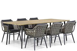 Lifestyle Dolphin/Montana 240 cm dining tuinset 7-delig