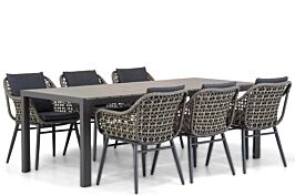 Lifestyle Dolphin/Young 217cm dining tuinset 7-delig