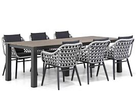 Lifestyle Dolphin/Valley 240 cm dining tuinset 7-delig