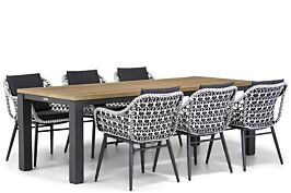 Lifestyle Dolphin/Veneto 230 cm dining tuinset 7-delig