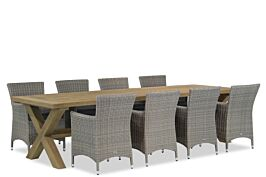 Garden Collections Dublin/Oregon 300 cm dining tuinset 9-delig
