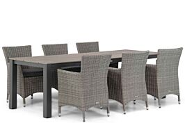 Garden Collections Dublin/Valley 240 cm dining tuinset 7-delig