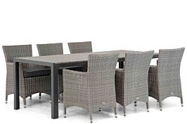 Garden Collections Dublin/Young 217 cm dining tuinset 7-delig