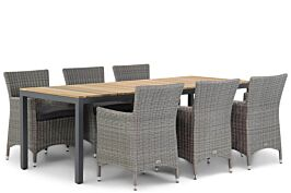 Garden Collections Dublin/Mazzarino 220 cm dining tuinset 7-delig