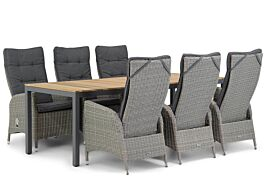 Garden Collections Lincoln/Mazzarino 220 cm dining tuinset 7-delig