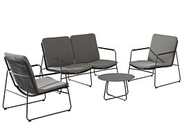 4 Seasons Outdoor Elba/Dali stoel-bank loungeset 5-delig
